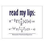 Riemann's Functional Equation Small Poster