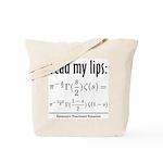 Riemann Functional Equation Tote Bag