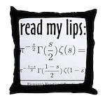 Riemann Functional Equation Throw Pillow