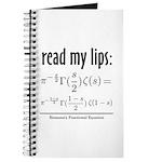 Riemann Functional Equation Journal