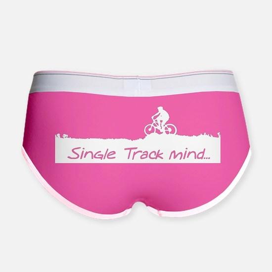 Single Track mind Women's Boy Brief