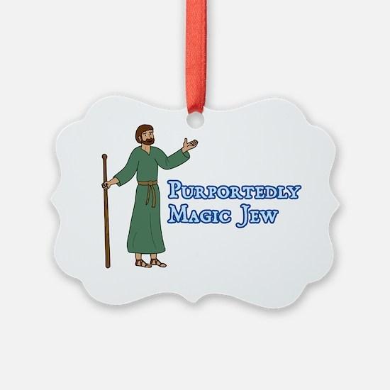 20100325-magic-jew Ornament