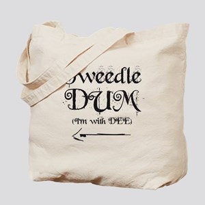 TweedleDUM Tote Bag