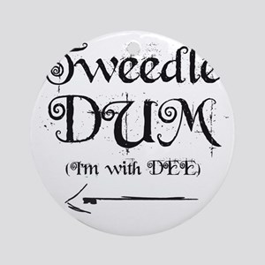 TweedleDUM Round Ornament