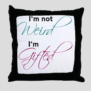 weird Throw Pillow
