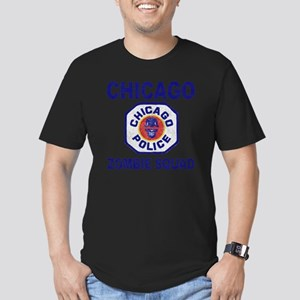 chicago pd Men's Fitted T-Shirt (dark)