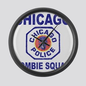chicago pd Large Wall Clock