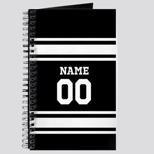 Sports Jersey Black White Journal
