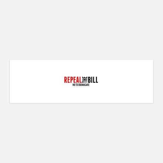 Repeal bumper_10x3 Wall Decal