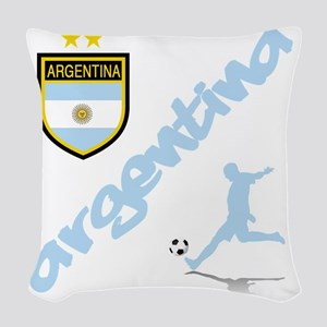 4-argentina Woven Throw Pillow