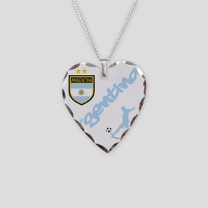4-argentina Necklace Heart Charm