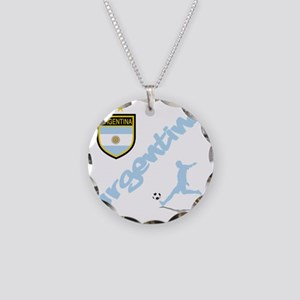 4-argentina Necklace Circle Charm