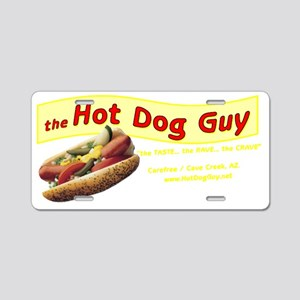 hot dog back Aluminum License Plate