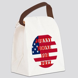 johnny for prez Canvas Lunch Bag