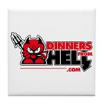 Dinners From Hell Tile Coaster