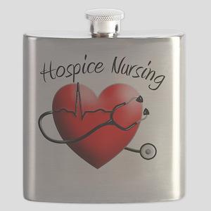 Hospice Nurse Flask