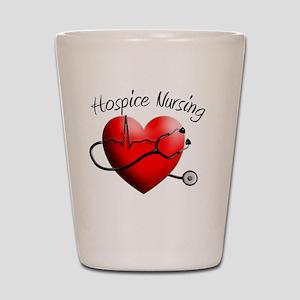 Hospice Nurse Shot Glass