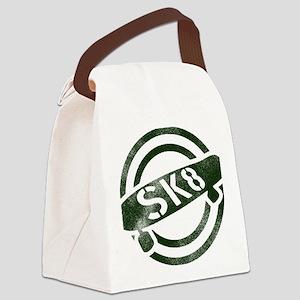 sk8_stamp_light Canvas Lunch Bag