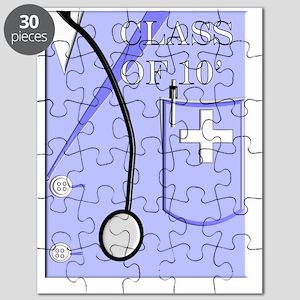 Medical Student Graduation Invitations Puzzle