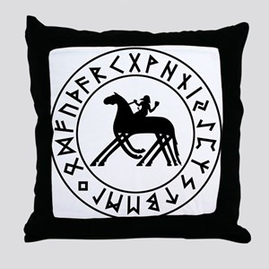 Sleipnir Throw Pillow