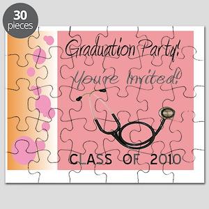 Medical Graduation Invitations Puzzle