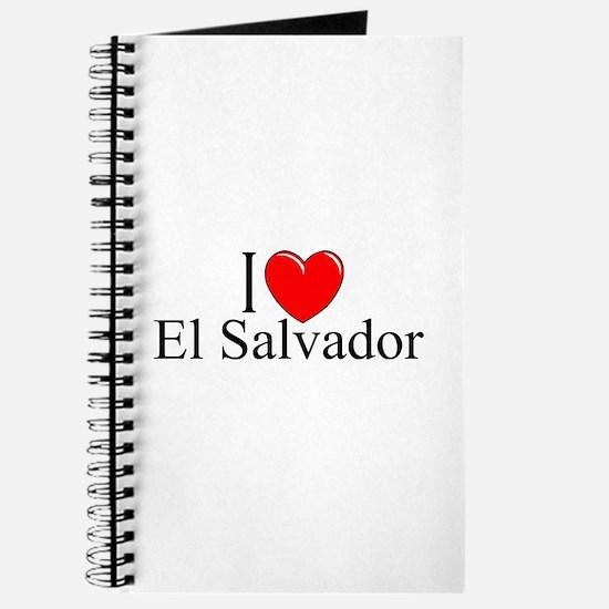"""""""I Love El Salvador"""" Journal"""