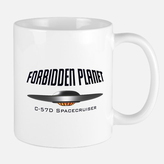 Forbidden Planet C-57D Spacecruiser Mug