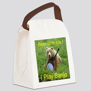 Bearwithme Canvas Lunch Bag