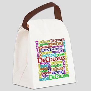 multiDecolores Canvas Lunch Bag