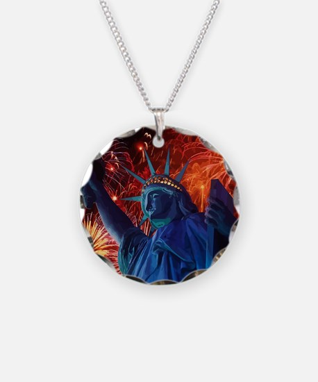 Lady_Liberty_Poster Necklace