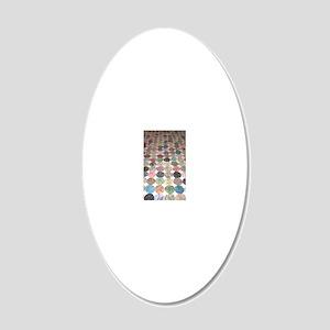 Yoyo 20x12 Oval Wall Decal