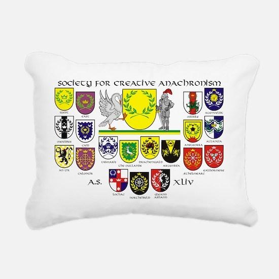 kingdoms44 Rectangular Canvas Pillow