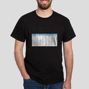 tawhaki software 8bit ascii mousepad T-Shirt