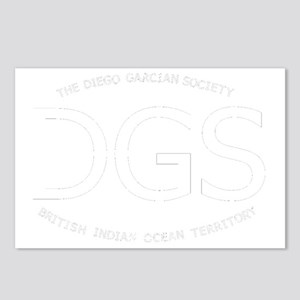 DGS-OvalSticker-forblack. Postcards (Package of 8)