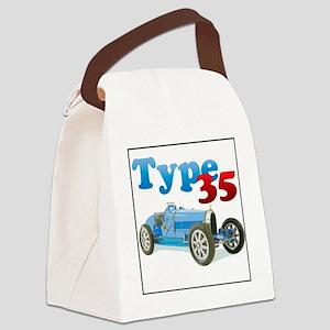 Bugatti35-4 Canvas Lunch Bag