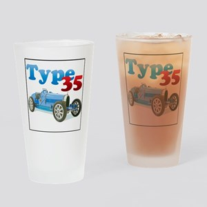Bugatti35-4 Drinking Glass