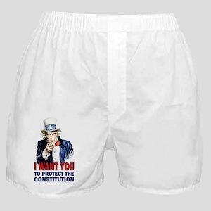 11x17_unclesam-2 Boxer Shorts
