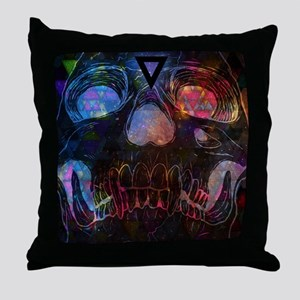 The Skull Throw Pillow