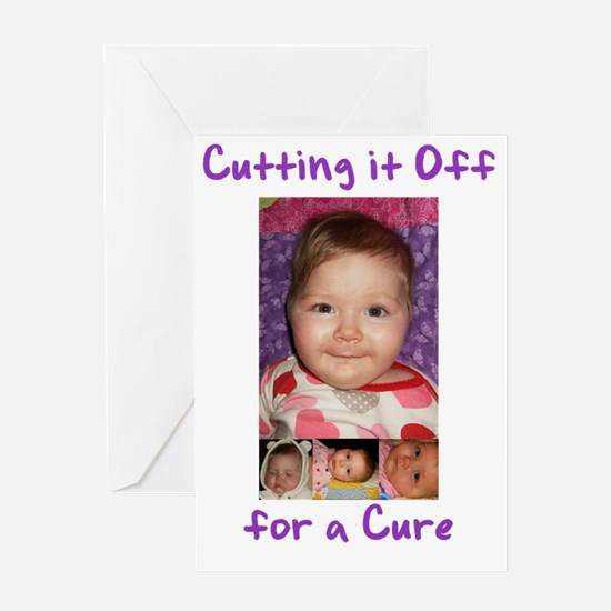 CuttingCure_front Greeting Card