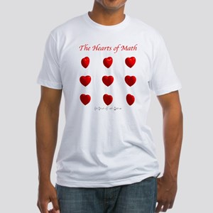 Hearts Surface/Curves Fitted T-Shirt