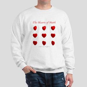 Hearts Surface/Curves Sweatshirt