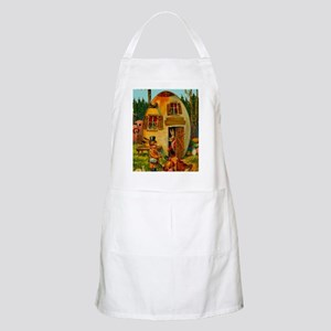 easter-egg-house Apron