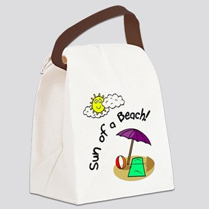 sunofabeach Canvas Lunch Bag