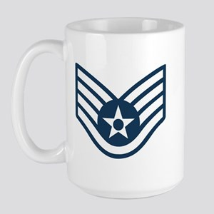 USAF-SSgt-Mug-Set Large Mug