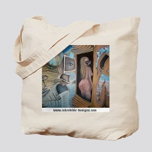 The Unraveling_shirt back Tote Bag