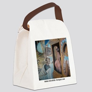 The Unraveling_shirt back Canvas Lunch Bag