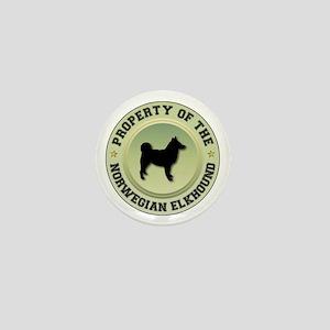 Elkhound Property Mini Button