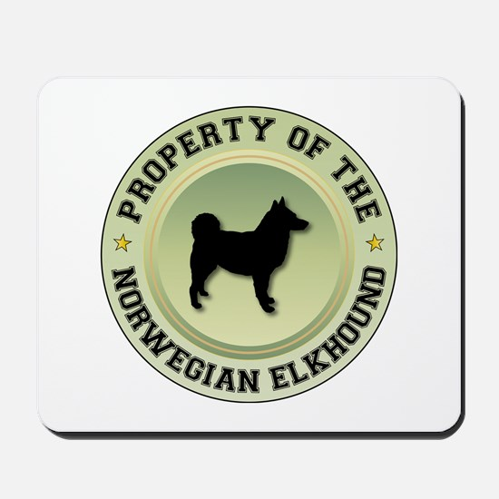 Elkhound Property Mousepad