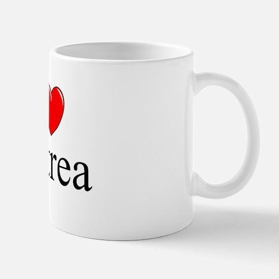 """""""I Love Eritrea"""" Mug"""