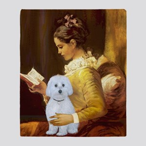 SFP-Reading - Maltese (B) Throw Blanket